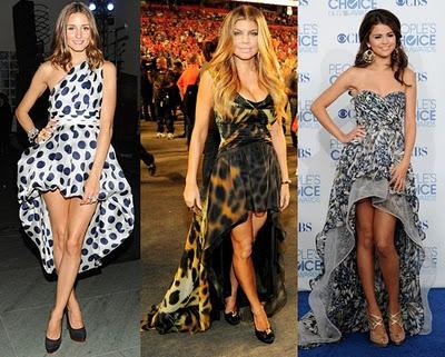 Vestidos Assimétricos Verão 2012