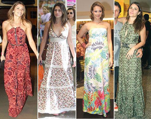 Vestidos Casuais para Senhoras, Fotos e Modelos