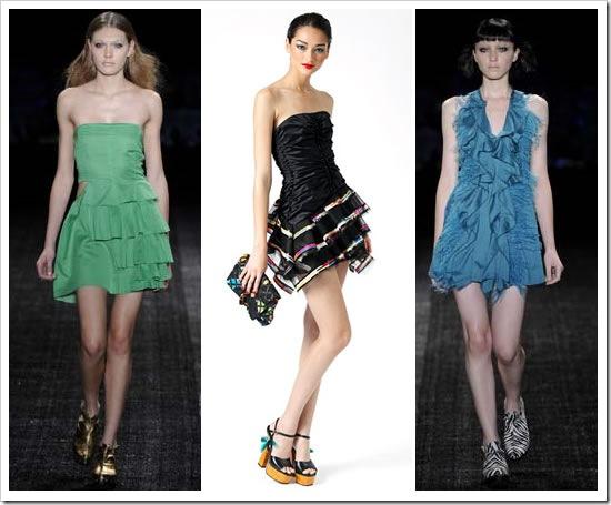 Vestidos com Babados – Fotos e Modelos