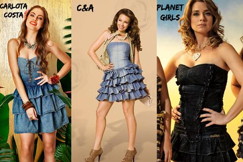 Vestidos Jeans 2012 – Fotos e Modelos