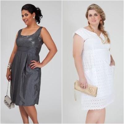 Vestidos para Gordinhas – Primavera Verão 2012