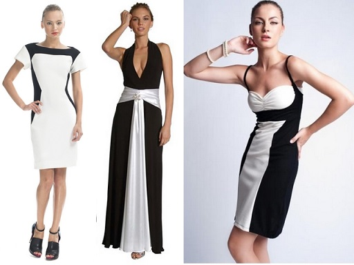 Vestidos Preto e Branco: Fotos, Modelos